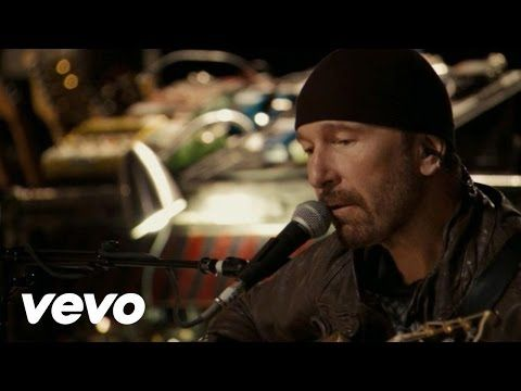 music to knit by - - U2 - Love Is Blindness (Edge's Solo Performance) - YouTube