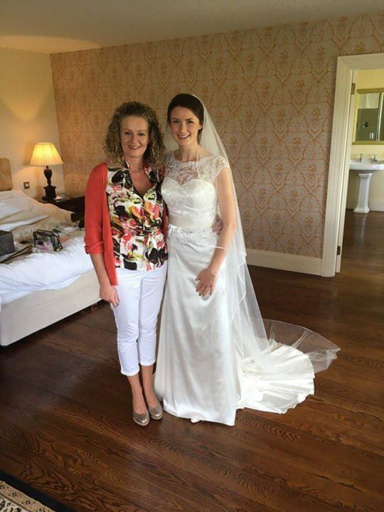 Past Bride of Finesse Bridal Wear Listowel #FinesseBrides #Weddings #BridalWear
