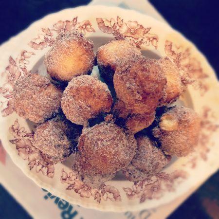 Ricotta Fritters: Cinnamon Sugar, Local Food, Chee Recipes, Doughnut Hole, Food Blog, Cakes Food, Fritters Local, Delicious Recipes, Ricotta Fritters