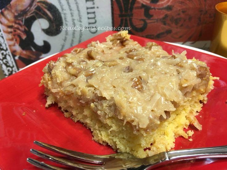 Cajun Cake Recipe Dessert Cajun Desserts Cajun Cake