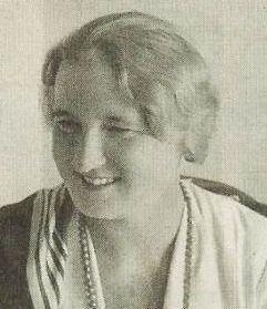 Hana Benešová, rozená Anna Vlčková, manželka Edvarda Beneše