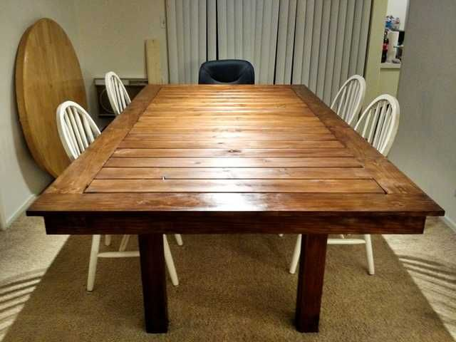 I Built A Dining Room Gaming Table For Under 400 In 2019 Game