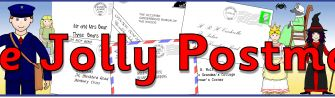 The Jolly Postman Display Banner and other resources