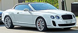 Bentley Continental GT - Convertible Coupe