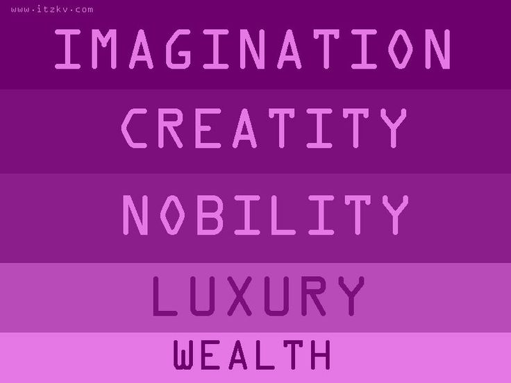 MEANING OF PURPLE