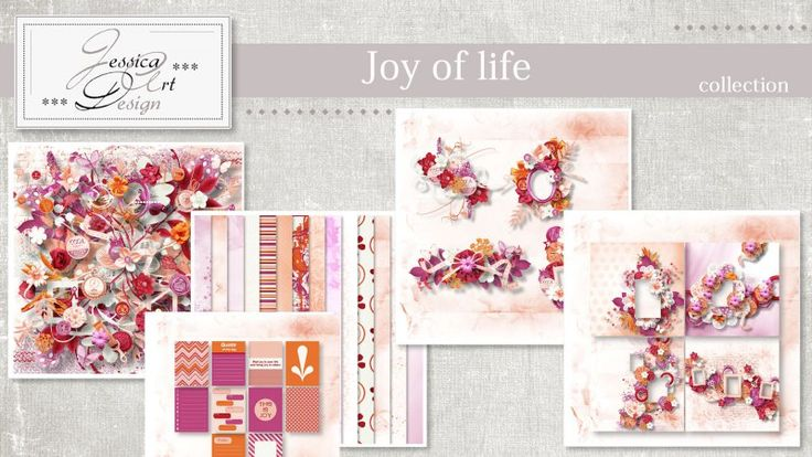 Joy of life collection by Jessica art-design