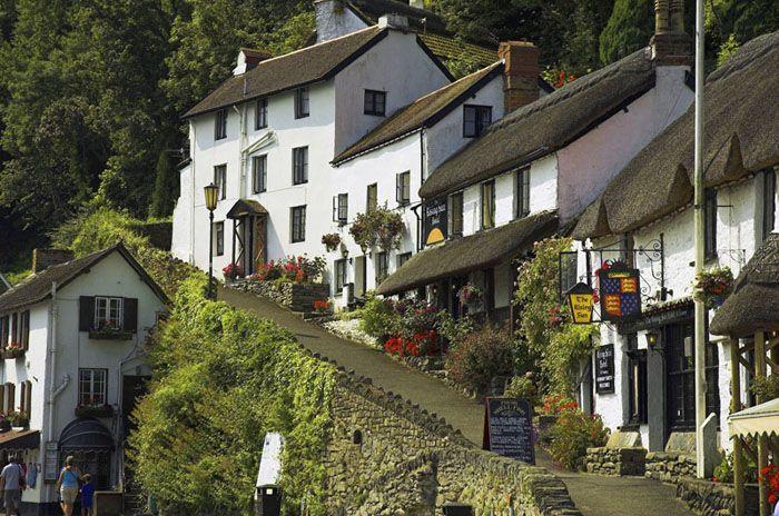 Lynmouth, Devon, England, UK - Copyright: Gil Gilson