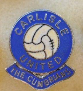 Редкие, очень старые, эмалевые знаки английский профессиональных футбольных клубов:ФК Карлайл Юнайтед
