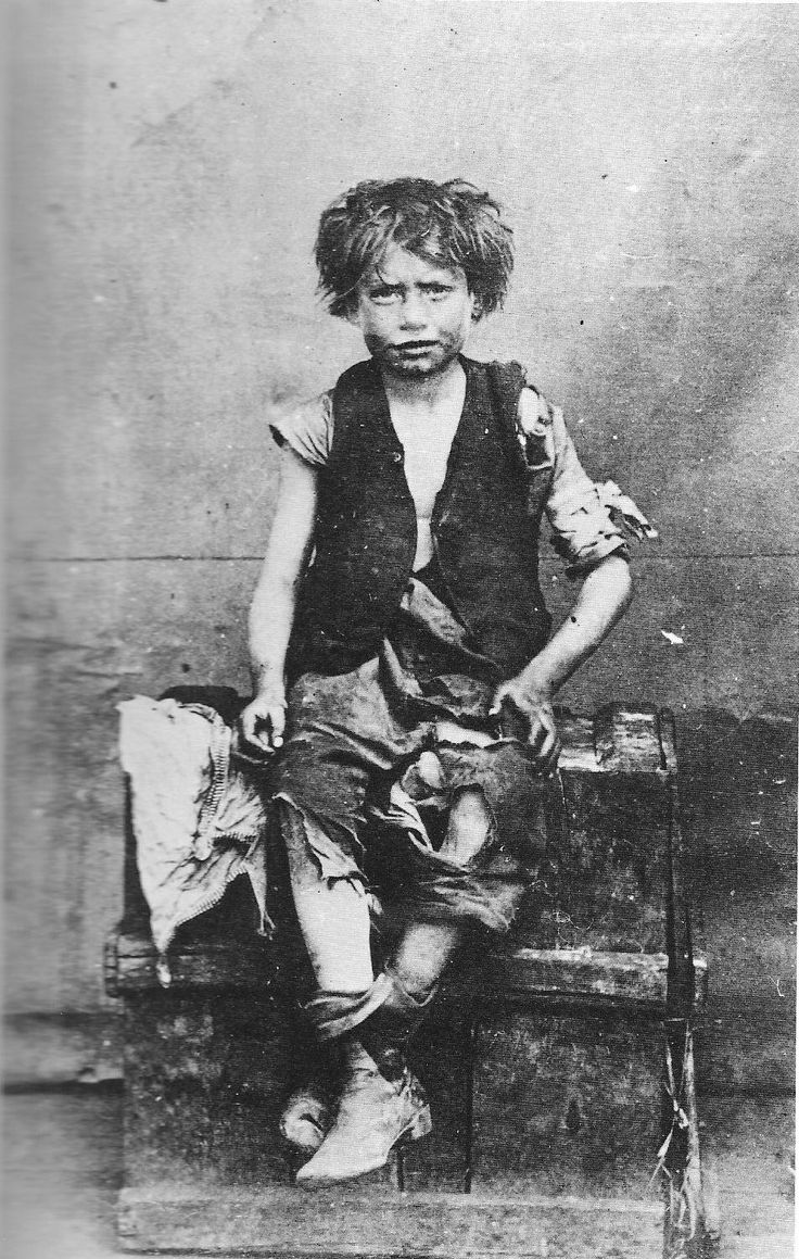 Barnado's Boy. Taken from the book East End 1888