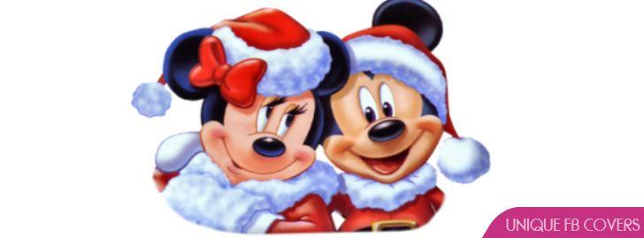 Disney Christmas Facebook Cover