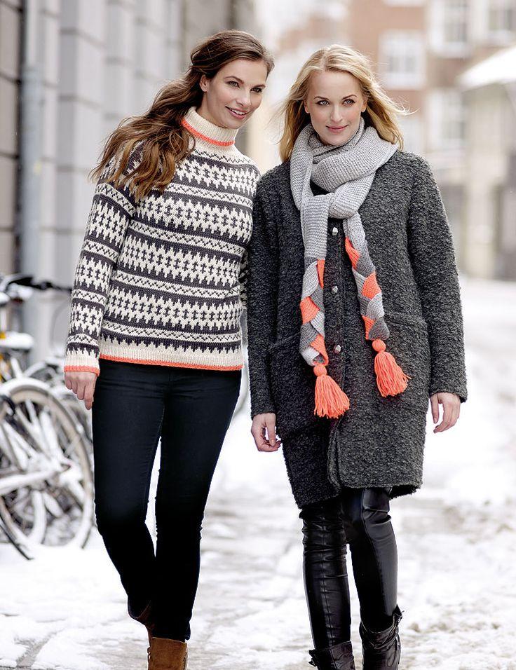 Garn merino uld grå melange - Stof & Stil