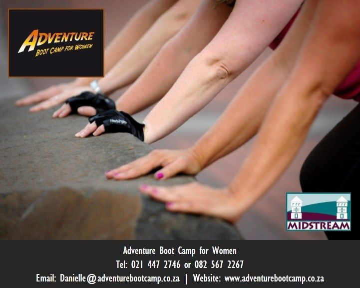 Adventure Boot Camp for Women is a fitness programme for the ladies in Midstream, Centurion, South Africa