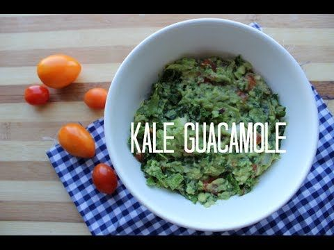 """DIY Kale Guacamole aka """"GuacKaleMole"""" Recipe"""