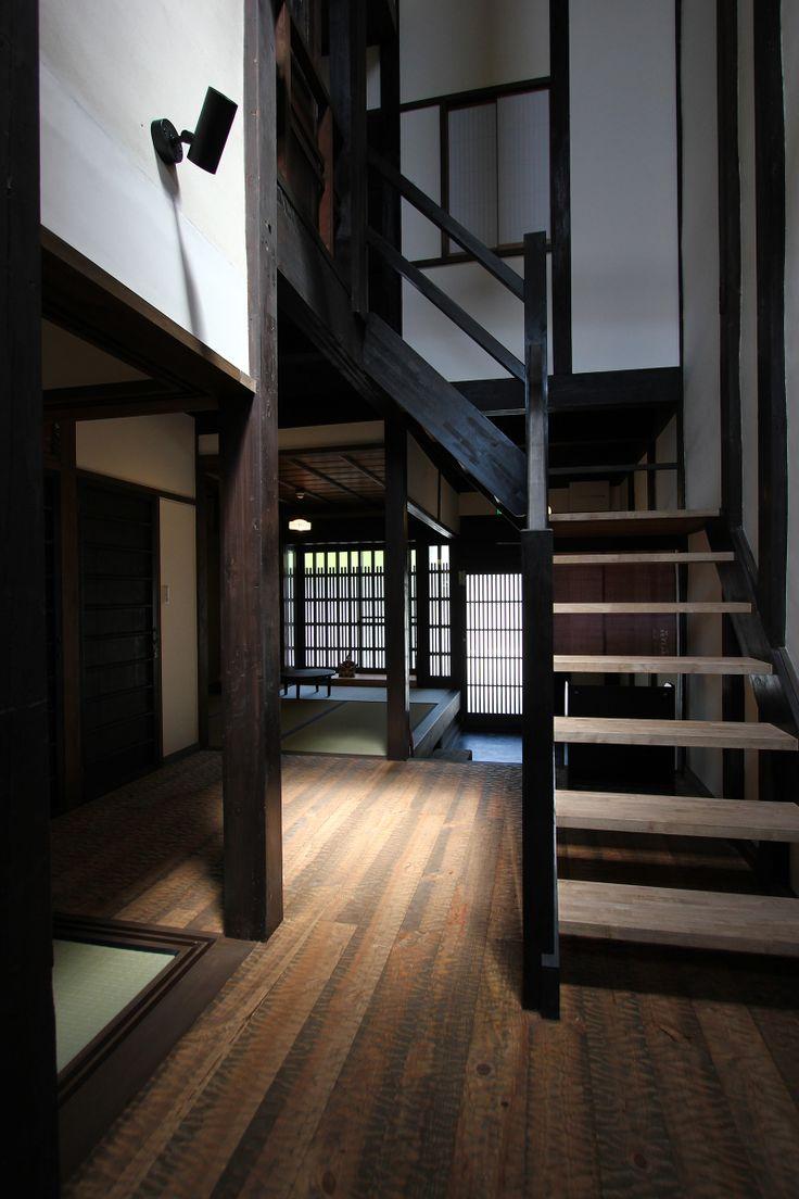 MACHIYA RESIDENCE INN KYOTO 京宿家 有済はとば庵 階段と廊下