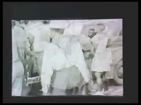 Alleged Video Footage Of Robert Johnson incredible footage of WWII rural Mississippi.