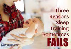 Why Sleep Training Failed: 3 Reasons | The Baby Sleep Site - Baby / Toddler Sleep Consultants