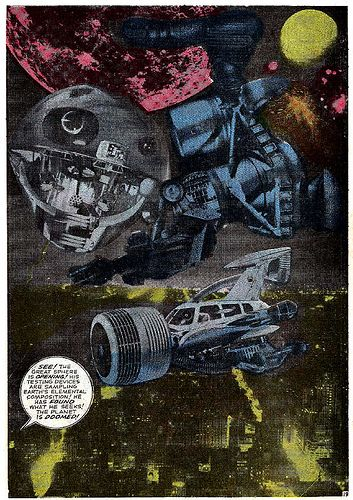 Jack Kirby photomontage from Fantastic Four #48 (March 196… | Flickr