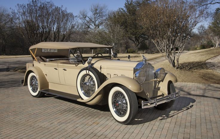 1929 Packard 640 Dual Cowl Phaeton - (Packard Motor Car Company Detroit, Michigan 1899-1958)