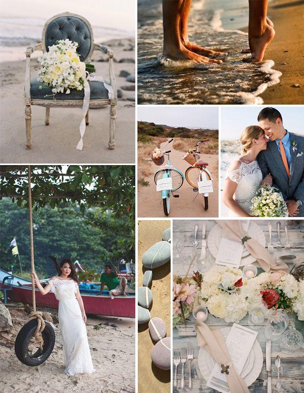 Bridal Inspiration: Beach Bride   #CatherineDeane