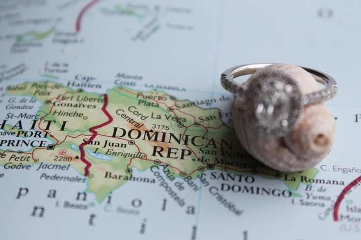 Creative way to announce a destination wedding and engagement