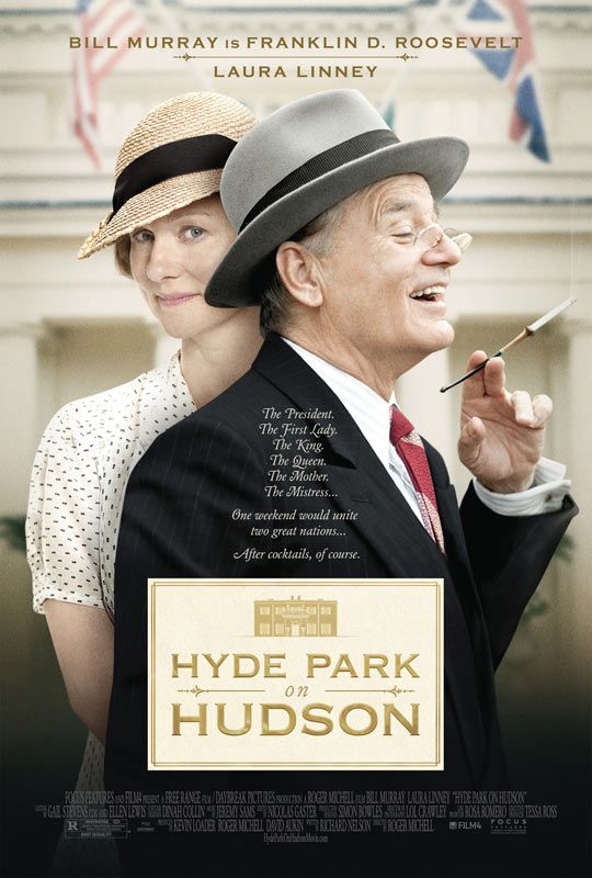 Looks like the most interesting movie I have wanted to see in a while - and Bill Murray. Hyde Park on Hudson - Movie Trailers - iTunes