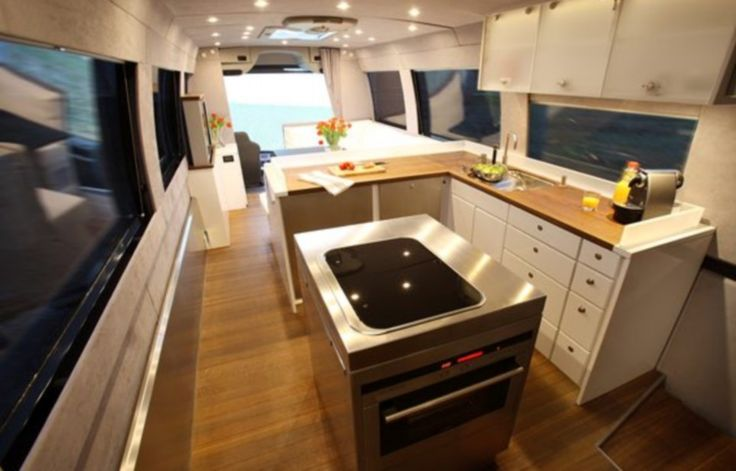 The £1.2million Motorhome With A State Of The Art Kitchen, Luxury  Entertainment Systemu2026 And Storage For A Supercar | Motorhome, Luxury  Caravans And Rv Part 66