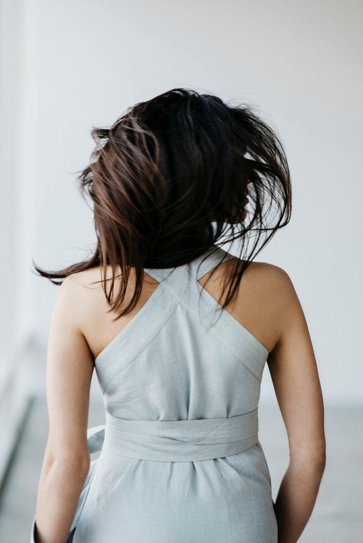 Linen Dress Motumo 15S11 by MotumoLinen on Etsy