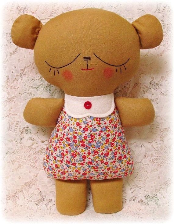 EASY Teddy Bear Pattern, Plush Toy Pattern, Softie Pattern ...