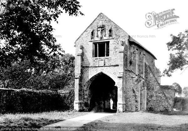 Old Cleeve, Cleeve Abbey, The Gatehouse 1935, from Francis Frith