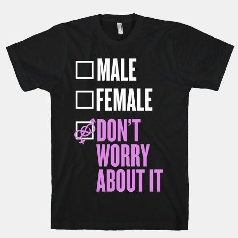 I am Genderfluid Check List | T-Shirts, Tank Tops, Sweatshirts and Hoodies | HUMAN
