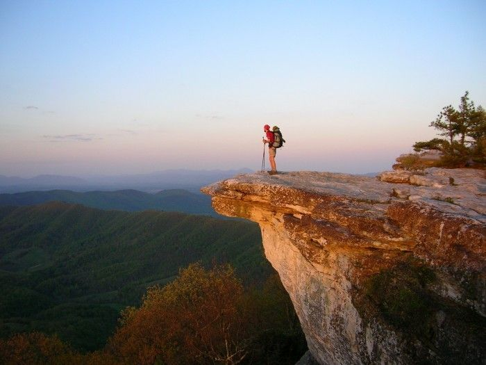 Through Hiking the Appalachian Trail - Hither & Thither