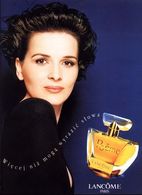 The Face of Beauty - Celebrity Fragrance: Juliette Binoche for Poeme Perfume by Lancome