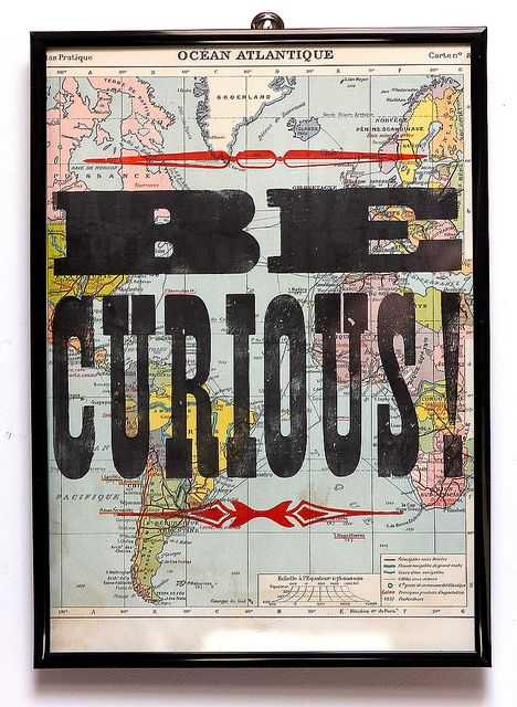 be curious..... because I am! :))))