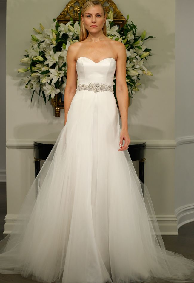 Strapless Wedding Dress | Romona Kaveza LEGENDS Fall 2015 | blog.theknot.com