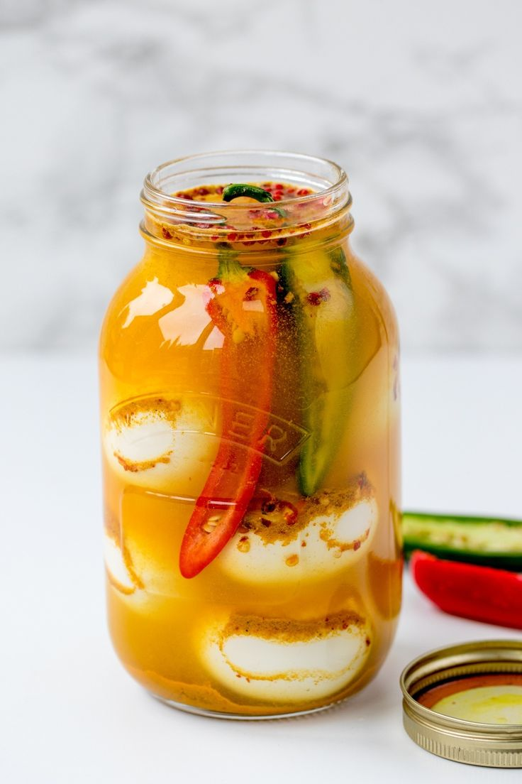 Bookmark this tasty recipe to make Curried Pickled Eggs With Smoked Salt.