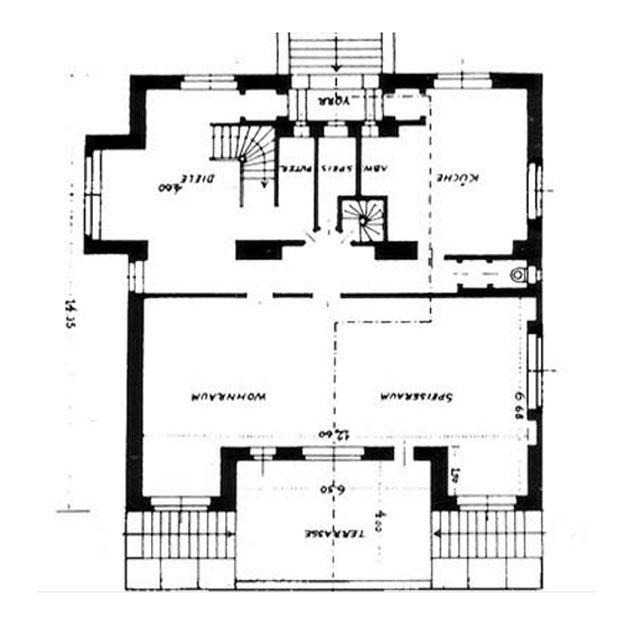Casa steiner 1910 adolf loos y el comienzo de la for Arquitectura racionalista