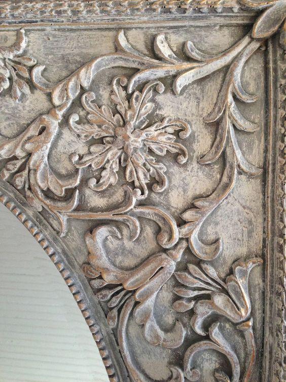 Annie Sloan Chalk Paint | furniture {reincarnated} - Old White, Paris Gray, Dark Wax, Gilded Details: