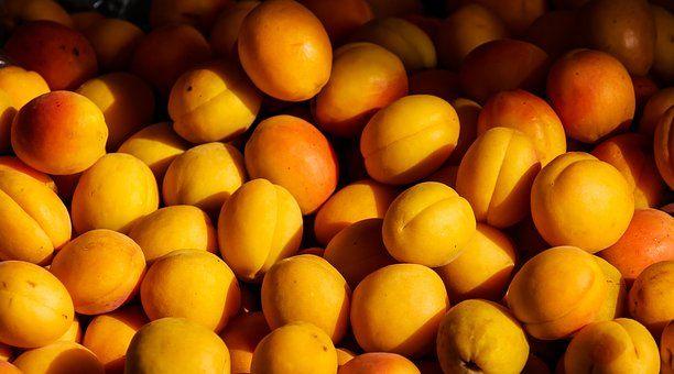 Φρούτα, Βερίκοκο, Ροδάκινα