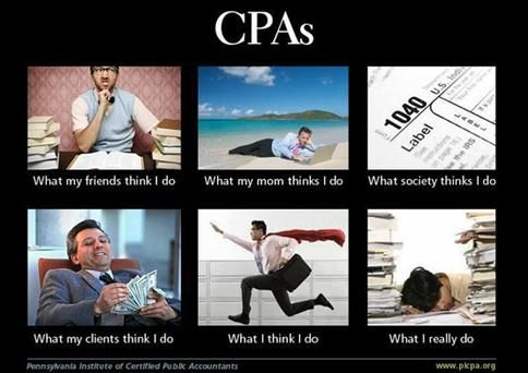 Laugh Therapy for the CPA in All of Us - Philip Campbell's Blog  I love great accountant and CPA humor. These are awesome. They put a big smile on my face. :-)