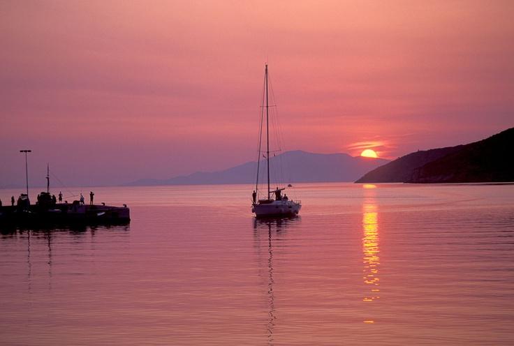 Sunset from #Amorgos Island, #Greece