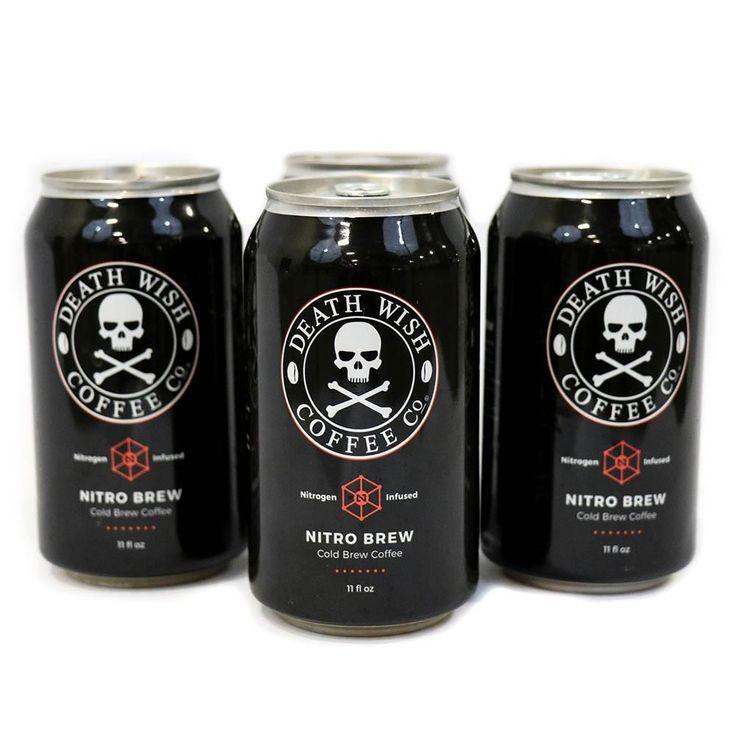 Death Wish Nitro Brew 4-Pack