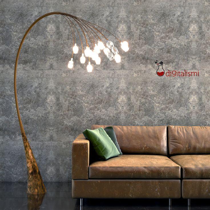 Interior Rendering Sofà - Rendering di interni divano, ambientazione