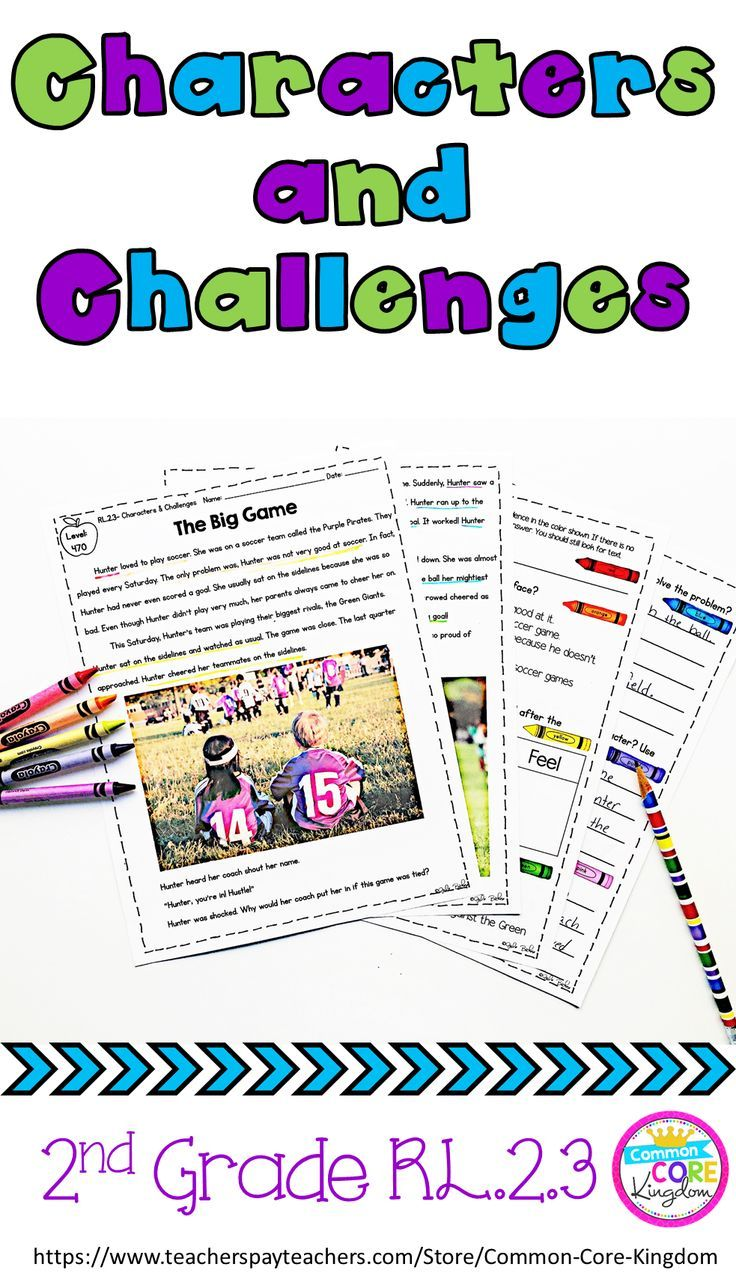 Are you looking for a unit to help your 2nd graders learn how characters respond to major events and challenges? This product includes 10 reading passages, question sets, and an assessment in the second grade text complexity band to teach CCSS RL.2.3.