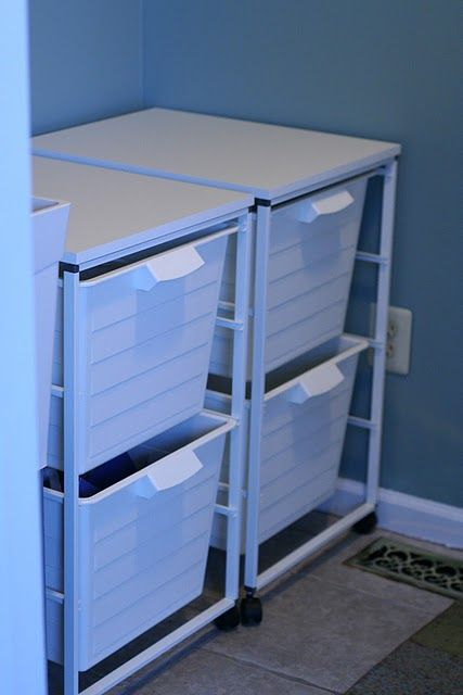 Ikea system for laundry room - want it for kids shoes, hats, jackets