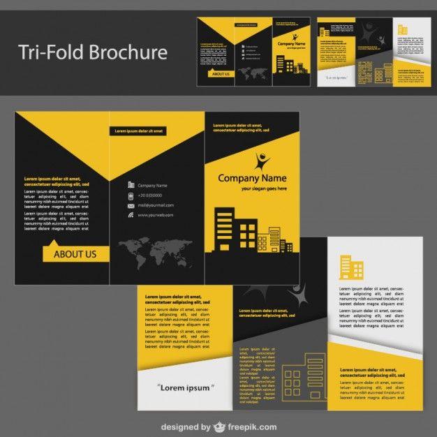 70 best Brochures images on Pinterest Tri fold brochure design - free brochure design templates word
