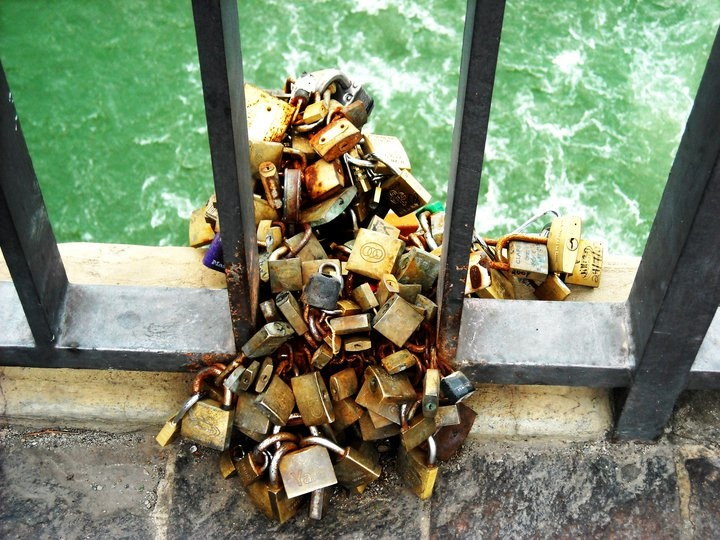 Locks of love, Florence Italy
