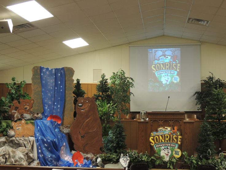 VBS SonRise Decoration FBC 2013 VBS 2013 SonRise