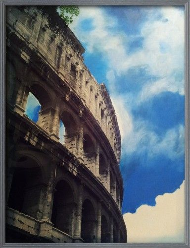 Rome, Capital Series - photo painting
