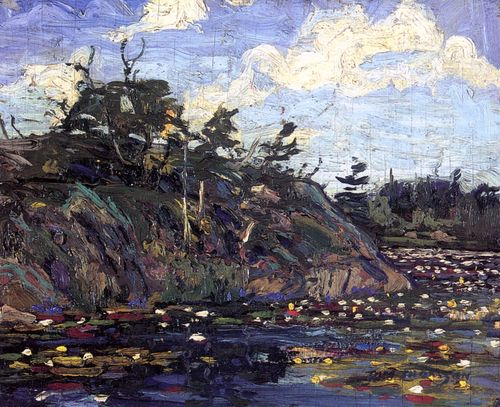 The Lily Pond  Tom Thomson - 1914