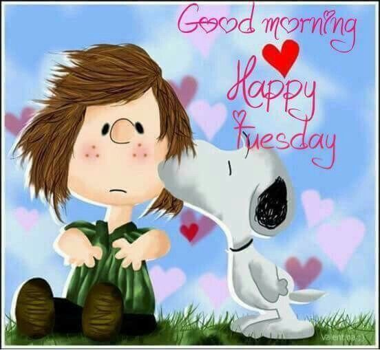 Good Morning!  Happy Tuesday!   --Peanuts Gang/Snoopy & Peppermint Patty